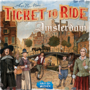 Ticket to Ride : Amsterdam
